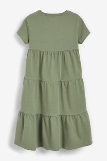 Next Jersey Tiered Dress (3-16yrs) - 290282
