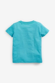 Next Crocodile Pilot Applique T-Shirt (3mths-7yrs) - 290289