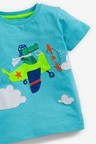Next Crocodile Pilot Applique T-Shirt (3mths-7yrs)