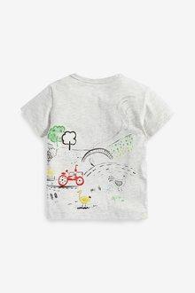 Next Farm Scene T-Shirt (3mths-7yrs) - 290306