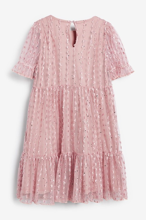 Next Tiered Tulle Dress (3-16yrs)