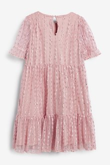 Next Tiered Tulle Dress (3-16yrs) - 290310