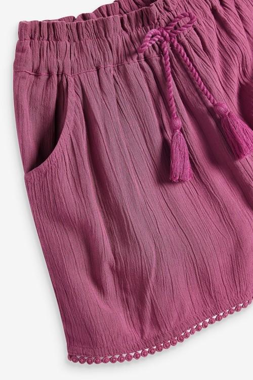 Next Tassel Hem Shorts (3-16yrs)