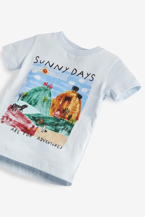 Next Sunny Days Farm T-Shirt (3mths-7yrs)