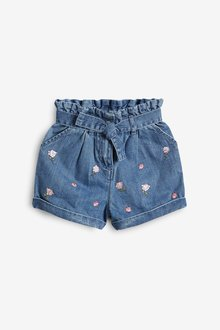 Next Sequin Embellished Shorts With Headband (3-16yrs) - 290417
