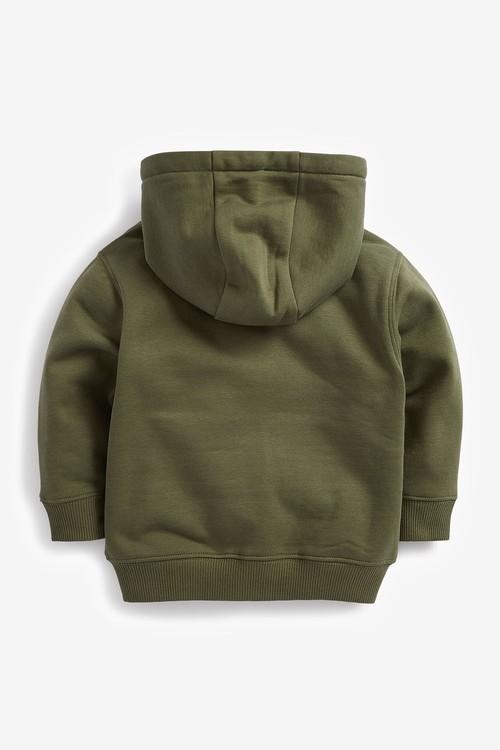Next Essential Zip Through Hoody (3mths-7yrs)
