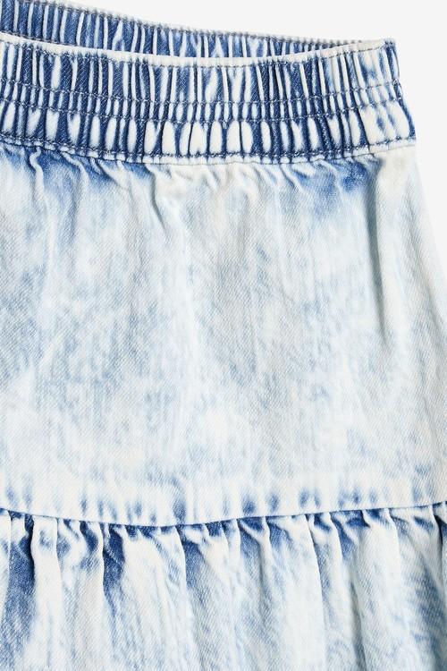 Next Acid Wash Midi Skirt (3-16yrs)