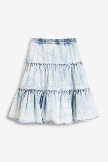 Next Acid Wash Midi Skirt (3-16yrs) - 290434