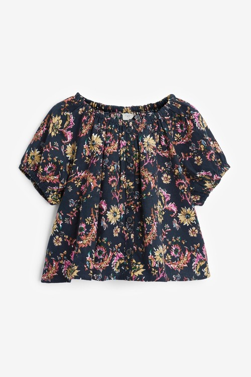 Next Printed Co-ord T-Shirt And Shorts (3-16yrs)