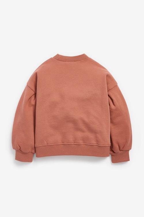 Next Slogan Sweatshirt (3-16yrs)