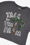 Next Palm Sequin T-Shirt (3-16yrs)