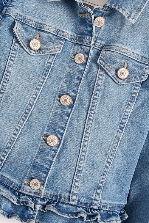 Next Frill Jacket (3-16yrs)