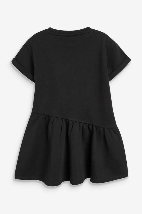 Next Slogan Sweat Dress (3-16yrs)