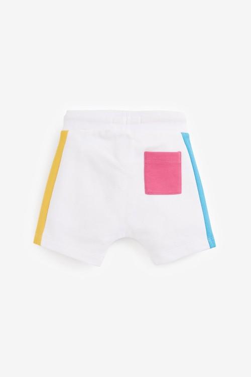 Next Jersey Colourblock Hoodie And Shorts Set (3mths-7yrs)
