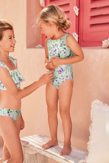 Next Floral Swimsuit (3mths-16yrs) - 290526