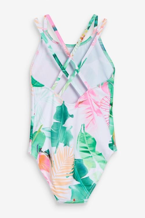 Next Palm Print Swimsuit (3-16yrs)