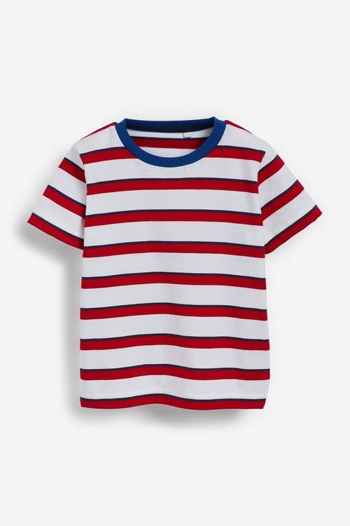 Next Jersey Short Dungarees And T-Shirt Set (3mths-7yrs)
