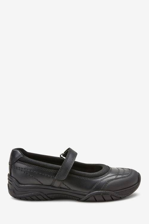 Next Leather Casual Mary Jane Shoes (Older)