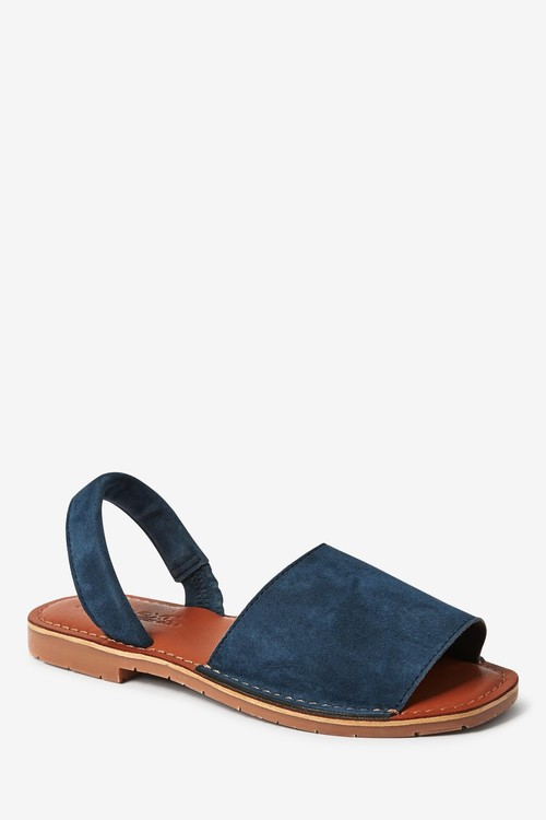Next Leather Peep Toe Sandals (Older)