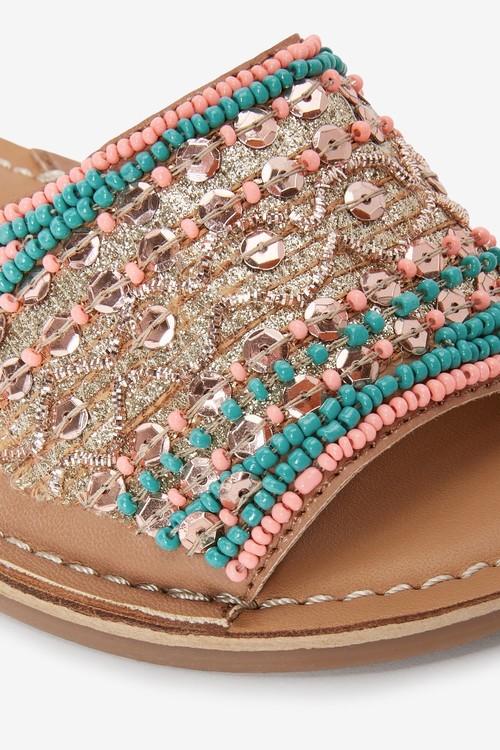 Next Embellished Peep Toe Sandals (Older)