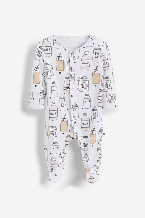Next 3 Pack Sleepsuits (0-2yrs)