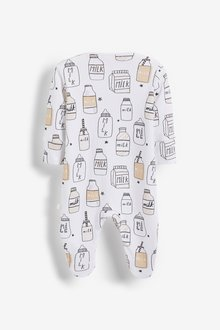 Next 3 Pack Sleepsuits (0-2yrs) - 290748