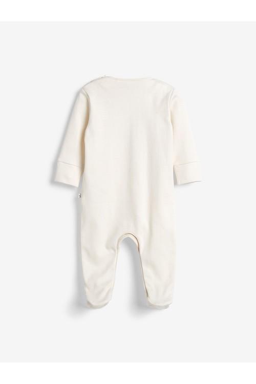 Next Single Organic Cotton Sleepsuit (0-2yrs)