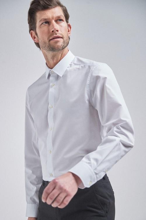 Next Shirts Two Pack-Regular Fit Single Cuff
