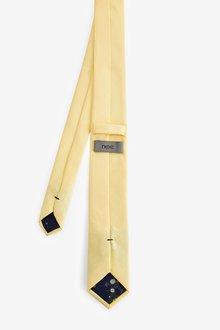 Next Tie With Floral Pocket Square Set - 290831