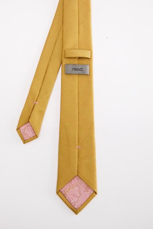 Next Tie And Floral Pocket Square Set