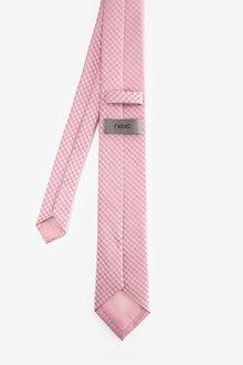 Next Geometric Tie With Tie Clip - 290850