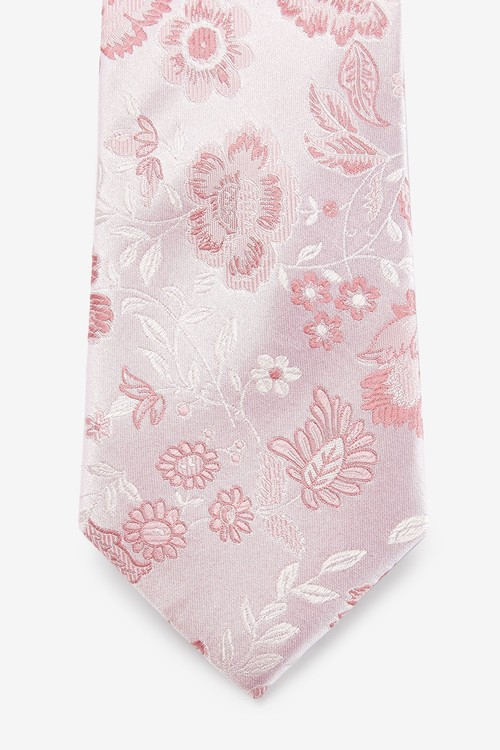 Next Signature Large Floral Tie