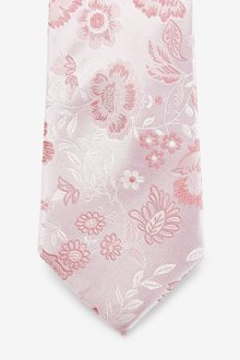 Next Signature Large Floral Tie - 290865