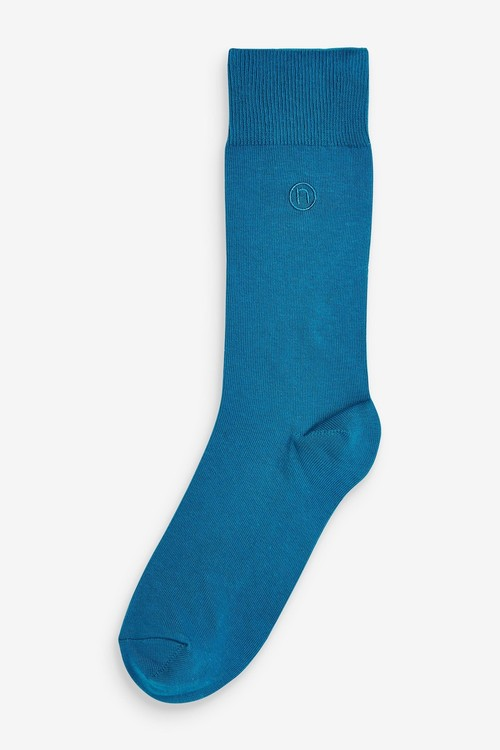 Next Embroidered Socks Eight Pack