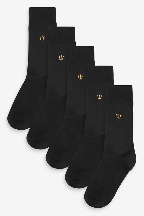 Next Embroidery Socks Five Pack
