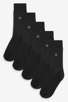 Next Embroidery Socks Five Pack - 290875