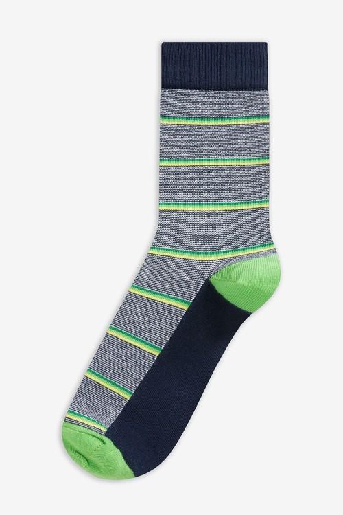 Next Stripe Socks Five Pack