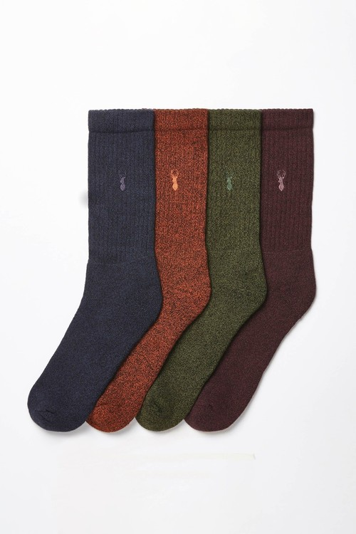 Next Heavyweight Socks Four Pack