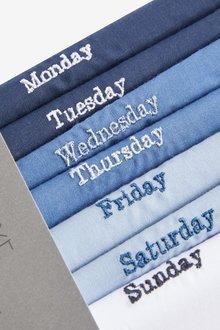 Next Days Of The Week Handkerchiefs Seven Pack - 290907