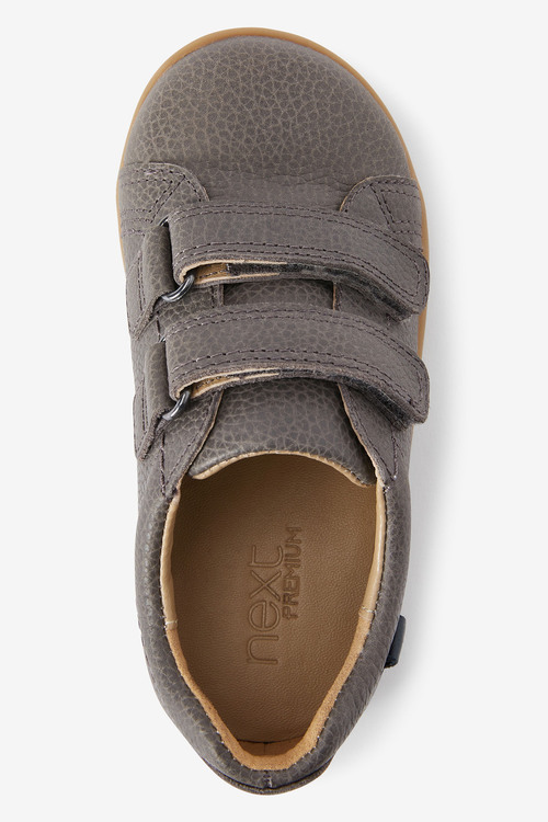 Next Leather Touch Fastening Shoes (Younger)