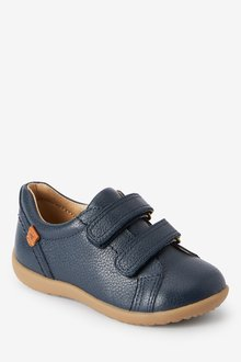 Next Leather Touch Fastening Shoes (Younger) - 290952