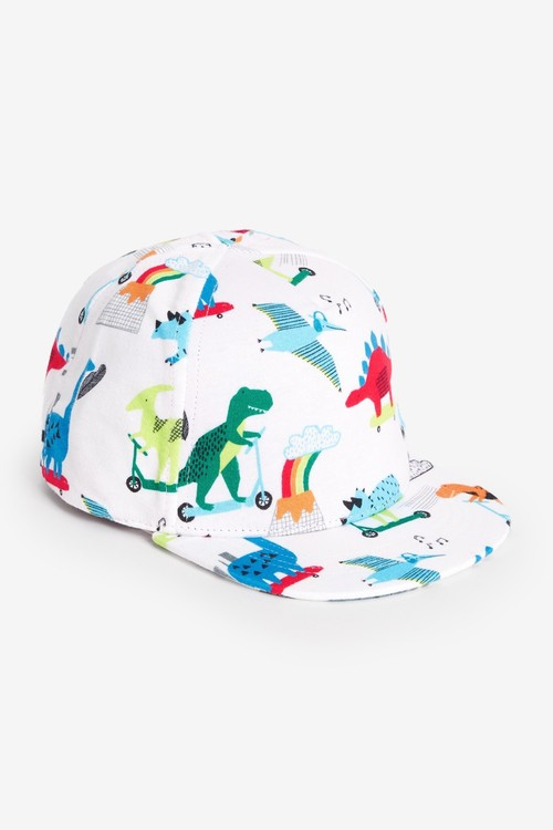 Next 2 Pack Spike Dinosaur Caps (Younger)
