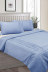 Shangri-La Linen Classic Pintuck Quilt Cover Set