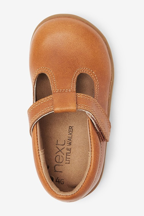Next Little Luxe Leather T-Bar Shoes (Younger)