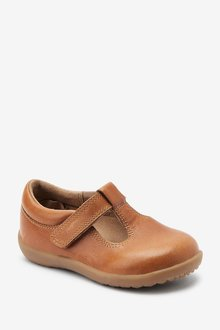 Next Little Luxe Leather T-Bar Shoes (Younger) - 291102
