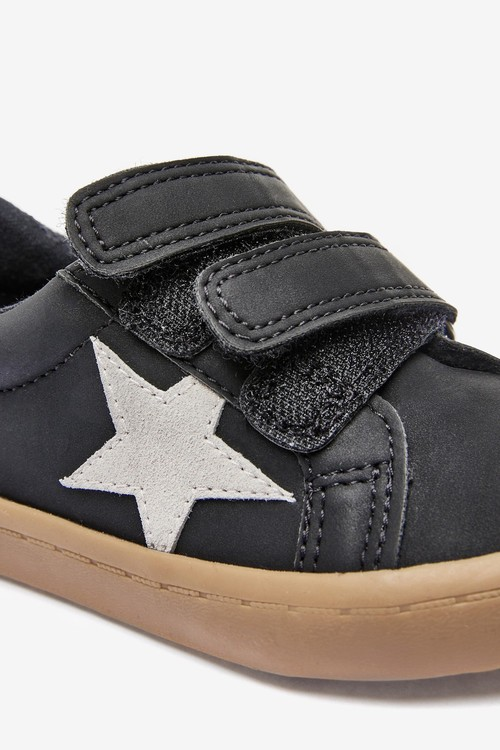 Next Star Touch Fastening Shoes (Younger)-Wide Fit