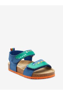 Next Corkbed Sandals (Younger)-Wide Fit - 291129