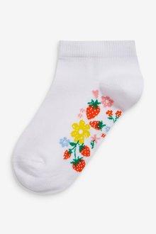 Next 5 Pack Footbed Trainer Socks - 291141