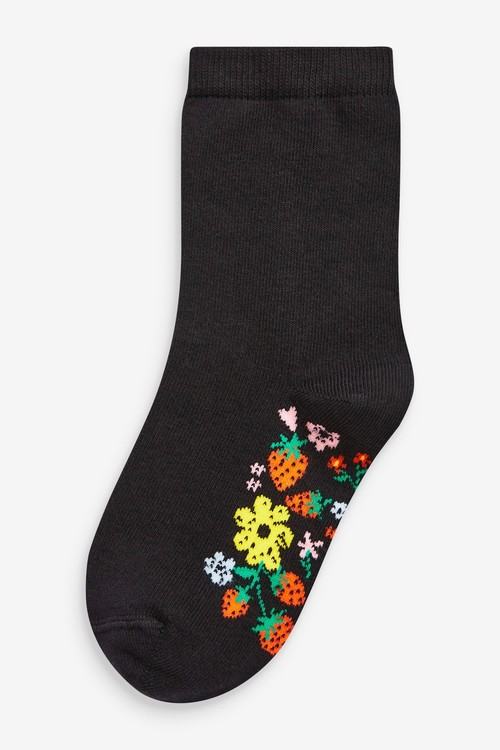 Next 5 Pack Footbed Ankle Socks