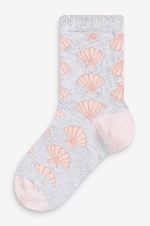 Next 5 Pack Sea Life Socks